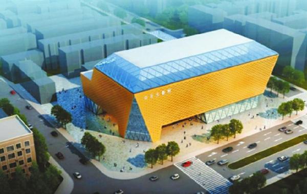 """据了解,天府广场周边的剧院已规划有四川大剧院,此次拟修建的中型剧院或修建于四川大剧院内部。近日,设计项目方披露了四川大剧院的最终外观设计方案,将用现代手法演绎汉风蜀韵,而这一建筑未来将成为天府广场文化客厅的又一地标性建筑。    融合汉风蜀韵 玻璃屋顶夜间会发光   根据公开资料,四川大剧院的前身是1987年建成并投入使用的国家甲级剧院——四川省锦城艺术宫,选址在人民中路1号原电信钟楼。此前,四川大剧院曾披露建筑外观方案,一个是入选方案""""汉代风"""",一个是备选"""
